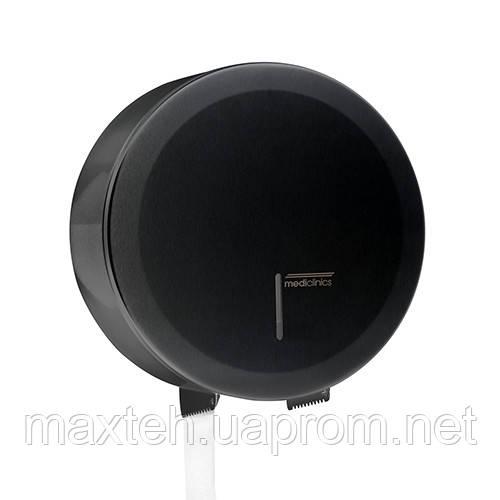 Mediclinics Держатель туалетной бумаги Джамбо 230 мм черный