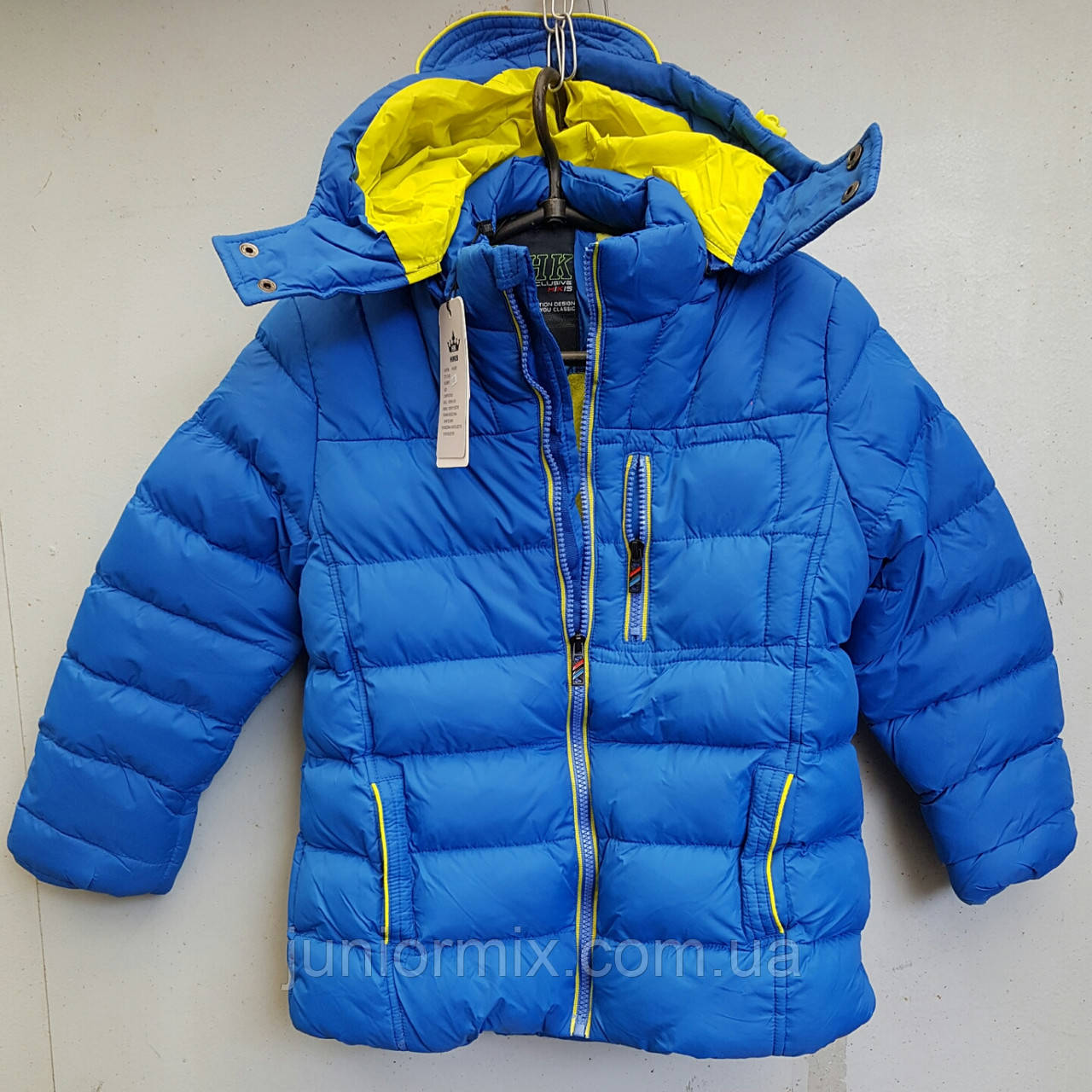 Куртка зимняя на мальчика HIKIS. Польша.