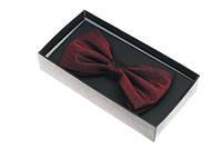 Бордовая шёлковая бабочка Бордовый