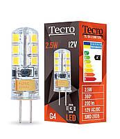 Лампа светодиодная Tecro TL-G4-2.5W-12V 2700K