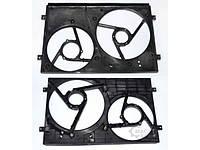 Диффузор вентилятора рад 2секц 1.4 8V sk Skoda Fabia 1999-2007
