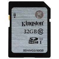 Карта памяти KINGSTON SDHC 32 GB G2 (CLASS 10) UHS-I