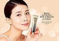 Крем для век и лица с комплексом пептидов A.H.C. Premium Real Eye Cream for Face