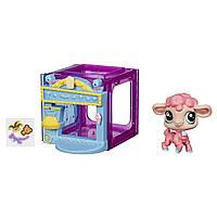 Маленький игровой набор Littlest Pet Shop Lamb Figure Wanda Woolsey барашек