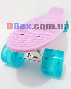 """Пенни борд Penny Classic Pastel 22"""" светящиеся Лиловый (2T2029)"""