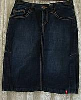 Юбка джинсовая прямая EDC р.44 7238а