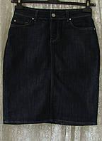 Юбка джинсовая прямая Zara р.42 7239а