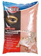 Trixie пустынный песок для террариума(красный)5кг