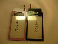 Сенсор Тачскрин  Samsung S5230 (Pink) High copy+ САМОКЛЕЙКА