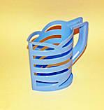 Кувшин-подставка для молочных пакетов 1л. Оранжевый, фото 10