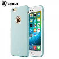 Чехол Baseus Mousse для Iphone 6/6S Plus голубой, фото 1