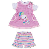 Набор для куклы платьице и юбочка с шортами Zapf Creation 818084 Flo