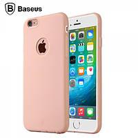 Чехол Baseus Mousse для Iphone 6/6S Plus розовый, фото 1