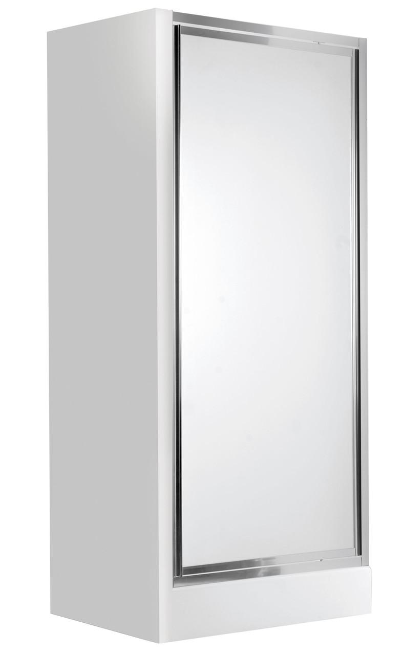 Душевые двери для ниши Deante FLEX, распахивающиеся, стекло матовое, 80 см.