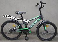 """Велосипед детский от 120 см двухколесный 20"""" Flash"""
