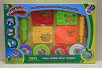 Набор для творчества, пластилин и формочки в коробке 21*32*4 см