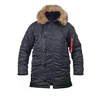 Куртка зимняя slim fit аляска n-3b Black Производитель: CHAMELEON