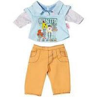 Бэби Борн Одежда Стильная для мальчика, 2 асс Zapf Creation Baby born 822-197