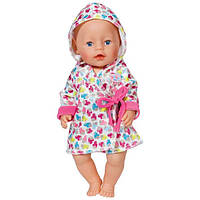 Zapf Creation Baby born 822-463 Бэби Борн Одежда Халат с капюшоном