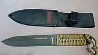 Нож метательный Throwmaster Black-1, для метания, спортивный