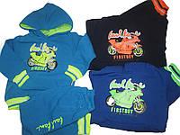 Спортивный костюм-двойка утепленный для мальчиков, размер  2,4,10лет, Crossfire, арт. AF-139