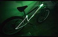 Подсветка рамы велосипеда —светящимся шнуром 4-го покл.