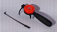 Удочка для зимней рыбалки Adams с катушкой и кивком ИФР с длинной неопреновой ручкой