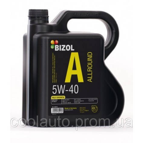 Моторное масло Bizol Allround 5W-40 1л, фото 2