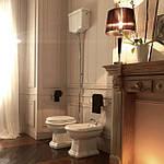 Ванная в стиле прованс. Спокойный стиль. Постоянные грезы