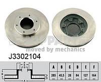 Диск тормозной передний 4351226160, 4351226140; TRW DF4116; FERODO DDF991; FEBI 29981 на Toyota Hiace