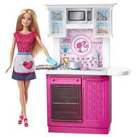 Барби на кухне ( Barbie® Doll and Deluxe Kitchen)