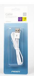 Кабель-зарядка Lightning USB 2.0 Pisen для iPhone