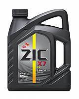 Моторное масло ZIC X7 LS 5W-30 4л