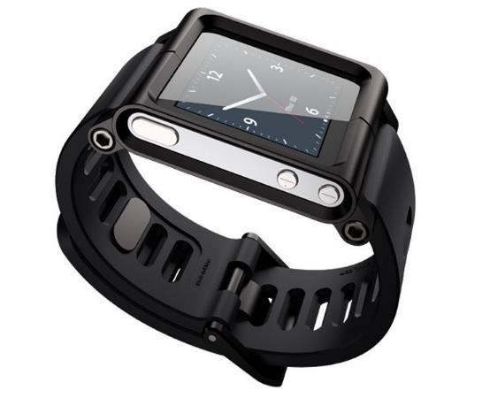 Браслет LunaTik для Apple iPod Nano 6G - Black