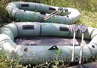 Лодка Лисичанка двухместная, ОРИГИНАЛ, 2015 года выпуска, рыбалка, комплектующее