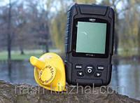 Эхолот с литиевой батареей Lucky, беспроводной эхолот, помощник рыбака, крупный улов , рыбалка, комплектующее