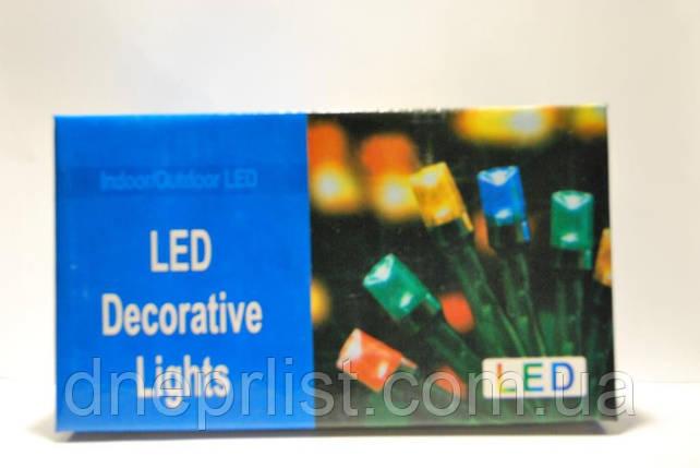 """Гирлянда LED  """"нить"""", цветная, 100 диодов, фото 2"""