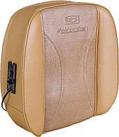 Массажная подушка кожа+текстиль SL-D14, массажная подушка для спины и шеи, подушка для массажа