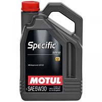 Моторное масло Motul Specific 229.52 5W-30 1л