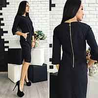 Платье женское, модель 726, черный, фото 1
