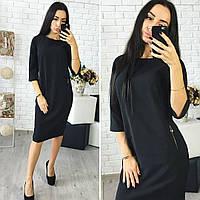 Платье женское, модель 726, черный