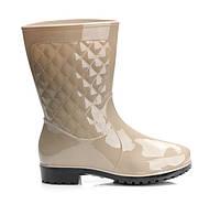 Стильные резиновые ботинки