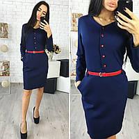 Платье женское, модель 755, синий