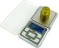 Карманные ювелирные электронные весы до 500 грамм с дискретностью 0.1 г/ Ваги електронні ювелірні карманні