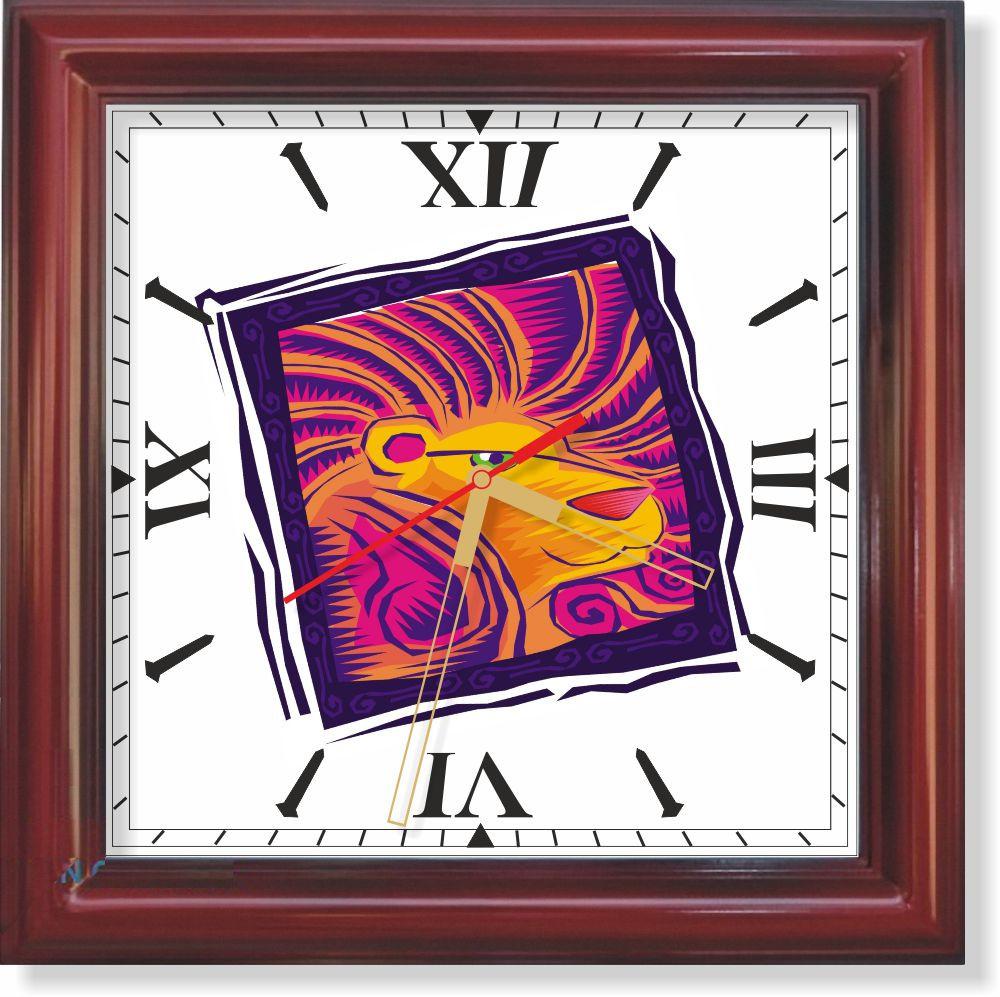 Настенные часы  Лев II