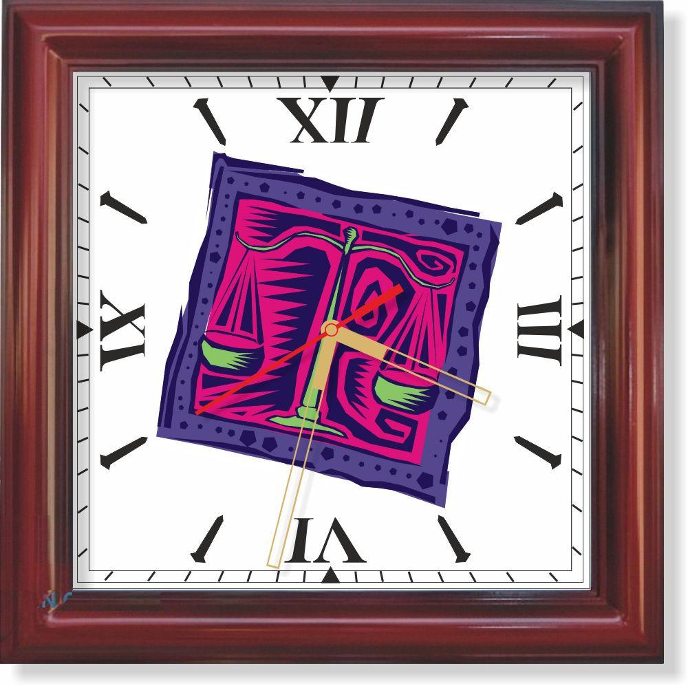 Настенные часы  Весы II