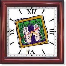 Настенные часы Близнецы II