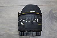 Объектив  Sigma AF 15mm f/2.8 EX DG Fisheye CANON