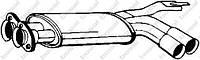 Глушитель, передняя часть POLMOSTROW 03126, 0376; 18121719426; BOSAL 247133; ASSO 086022 на BMW E34