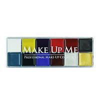 Профессиональная палитра жидких текстур 12 оттенков  - Make Up Me GRS12 - GRS12
